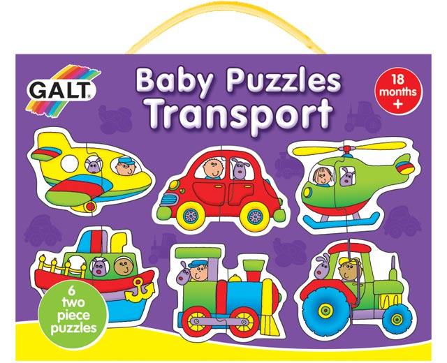 Galt Toys Baby Puzzles - Transport