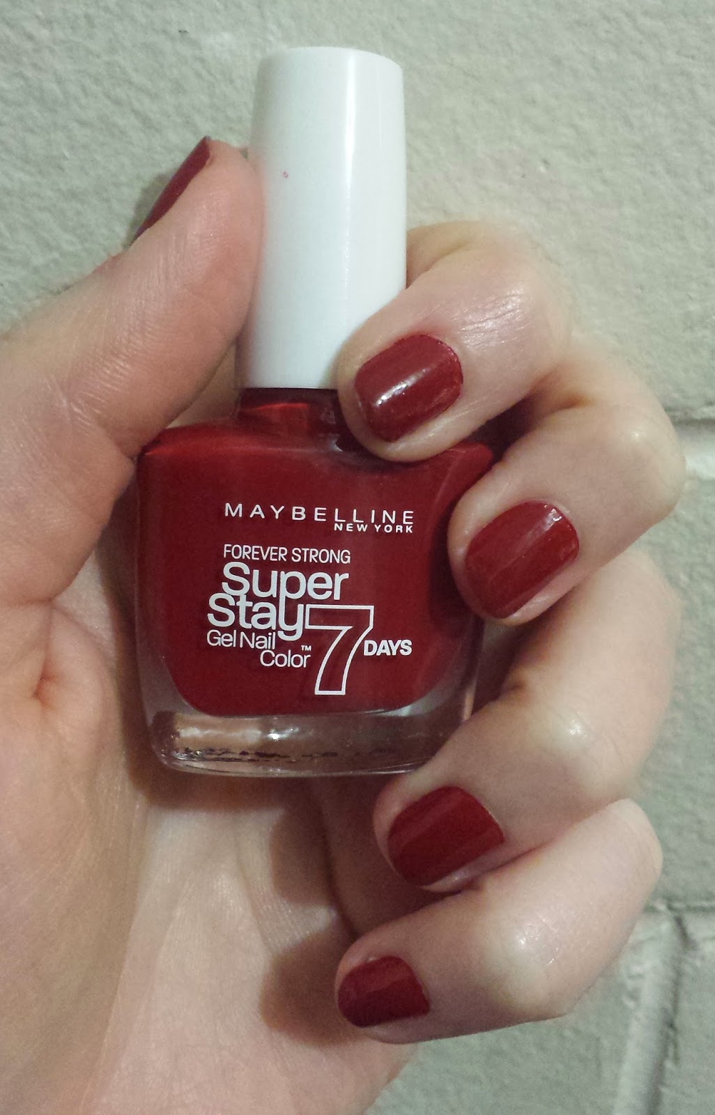 Gothy Two Shoes: Maybelline Super Stay 7 Day Gel Nail Color, Deep ...