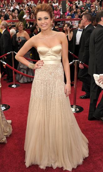 Miley Cyrus Oscar Dress