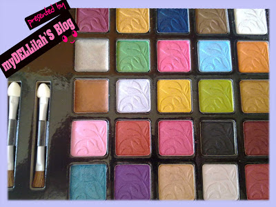 Warna Cantik Sariayu 25th anniversary palette