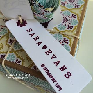 Exploding Box Card - Sara Evans