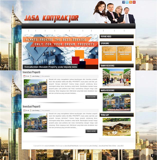 Contoh Web Design