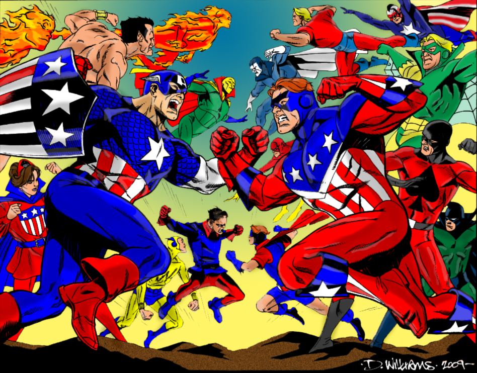 crusaders vs invaders essay At the same time that the invaders were meeting the crusaders in marvel comics, dc comics' freedom fighters were also facing off against a team called the crusaders.