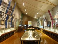 記念館の内部は胡堂の資料