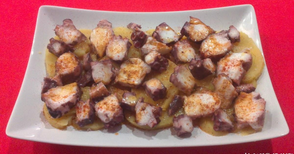 La cocina de gades pulpo a la gallega for Como se cocina el pulpo