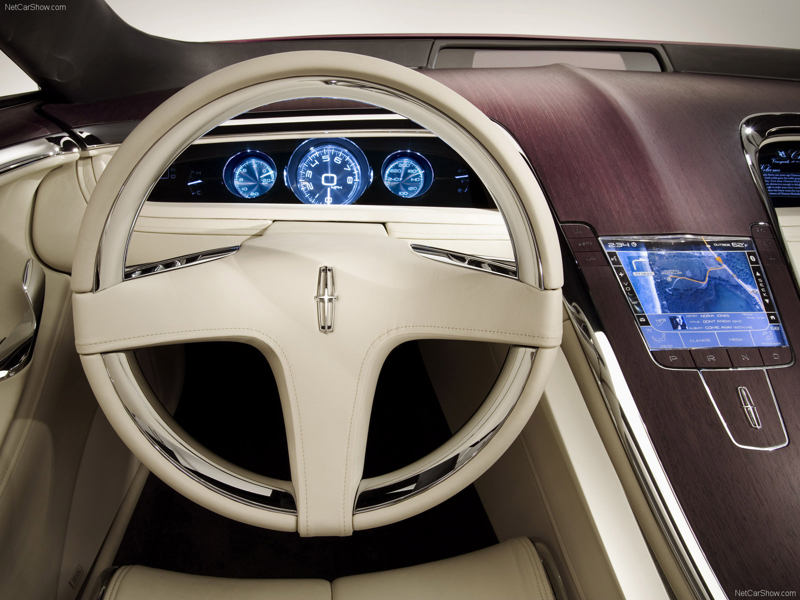 Hình ảnh xe ô tô Lincoln MKR Concept 2007 & nội ngoại thất