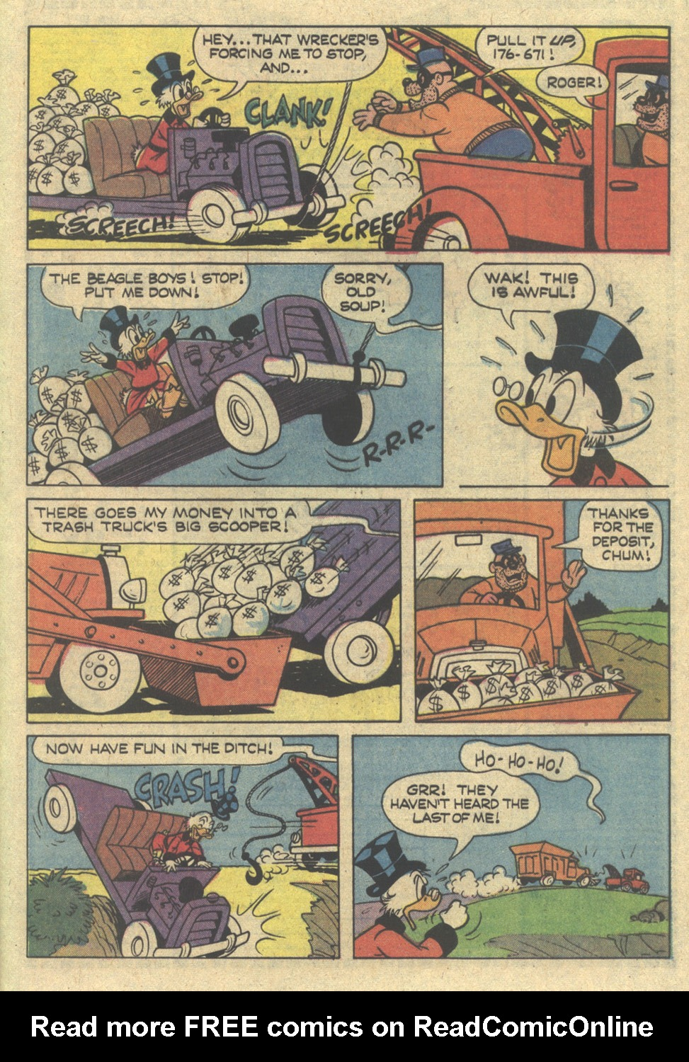 Uncle Scrooge (1953) Issue #172 #172 - English 29