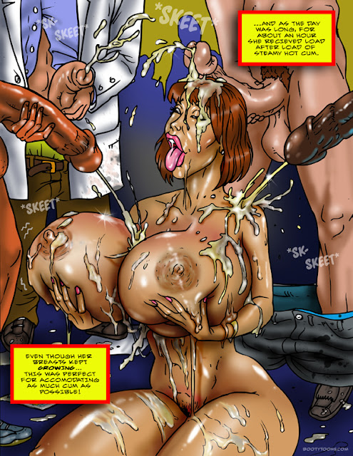 Forced very young to eat cum