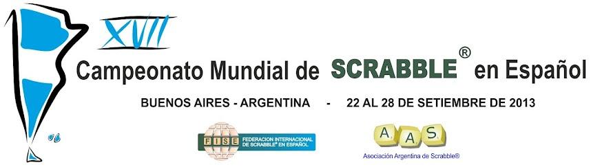 XVII Campeonato Mundial de Scrabble en Español - Argentina 2013