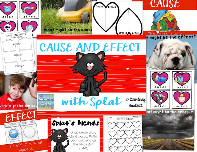 https://www.teacherspayteachers.com/Product/Cause-and-Effect-Minilesson-with-Love-Splat-1694967