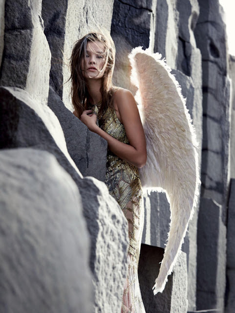 harrods heavenly creatures angel editorial