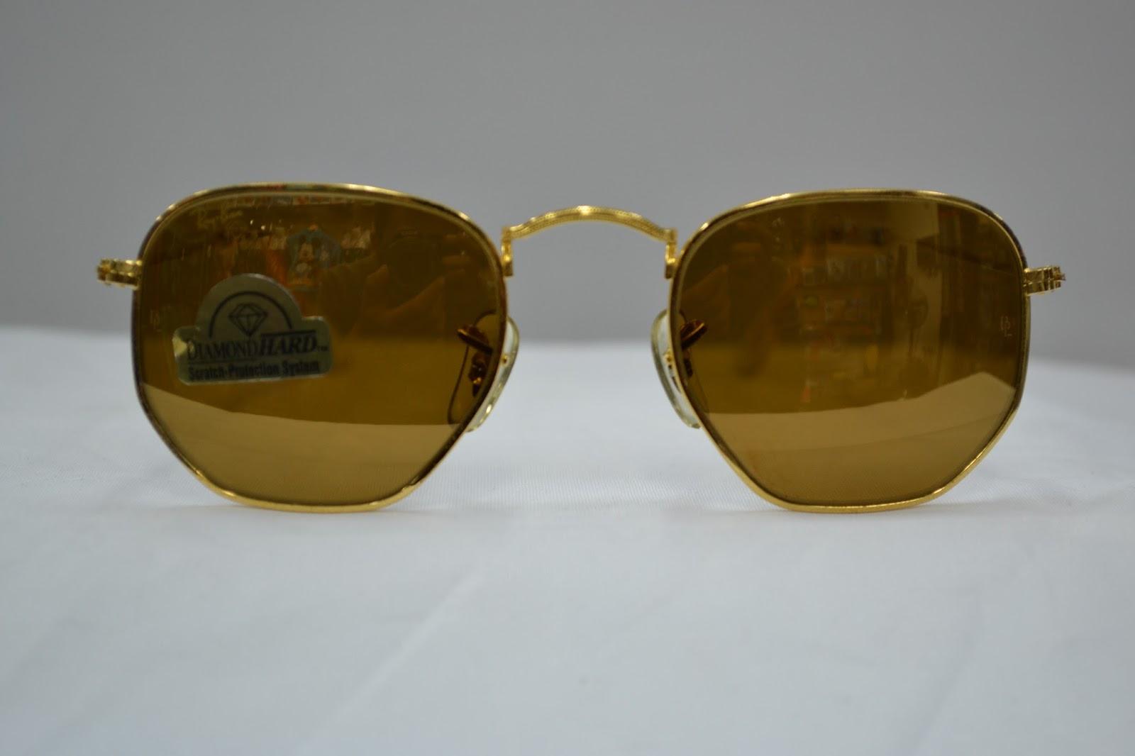 a15db2e87cf Vintage sunglass  Vintage Ray Ban diamond hard prism survivors ...