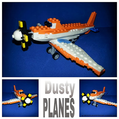 LEGO Creations inspired by movies, PLANES LEGO Creation, Dusty