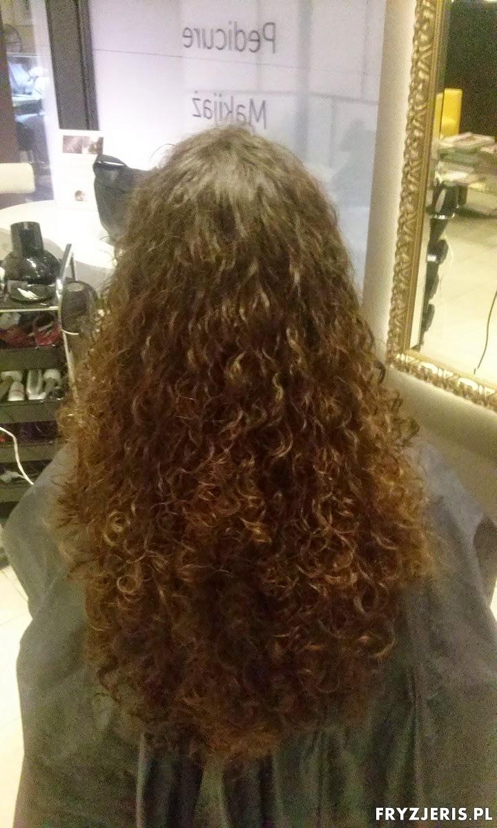 naturalne loczki włosy długie