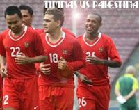TIMNAS INDONESIA VS PALESTINA - Laga Persahabatan Jelang Pra Piala Dunia 2014