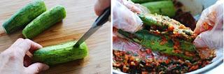 Cách làm Kim Chi Dưa chuột cực ngon