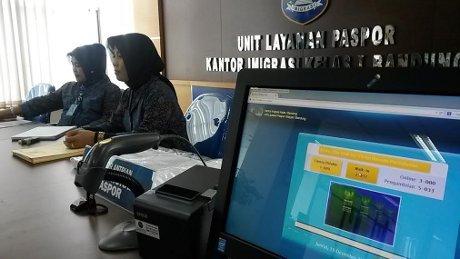 Diresmikan, Unit Layanan Paspor di Jln Soekarno-Hatta Bandung