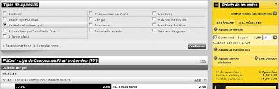 Apuestas Deportivas rosberg Fútbol – Champions League Bayern Munich Borussia Dortmund Interwetten