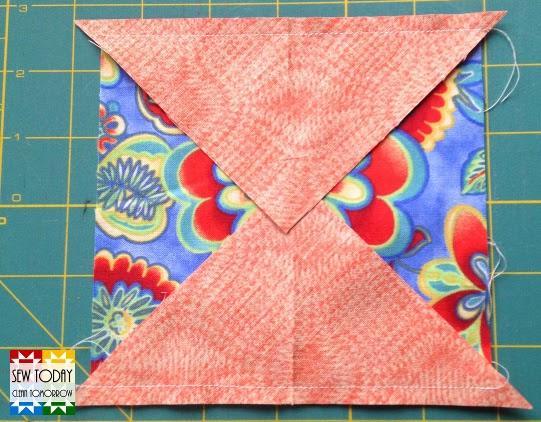 Add the bottom triangle