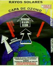 AFICHE DE LA CAPA DE OZONO.