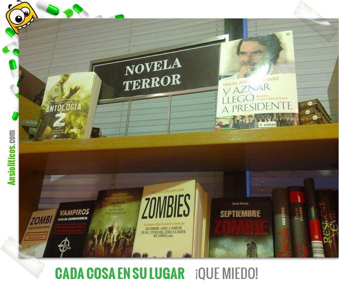 Chiste de Aznar: Libro de Terror
