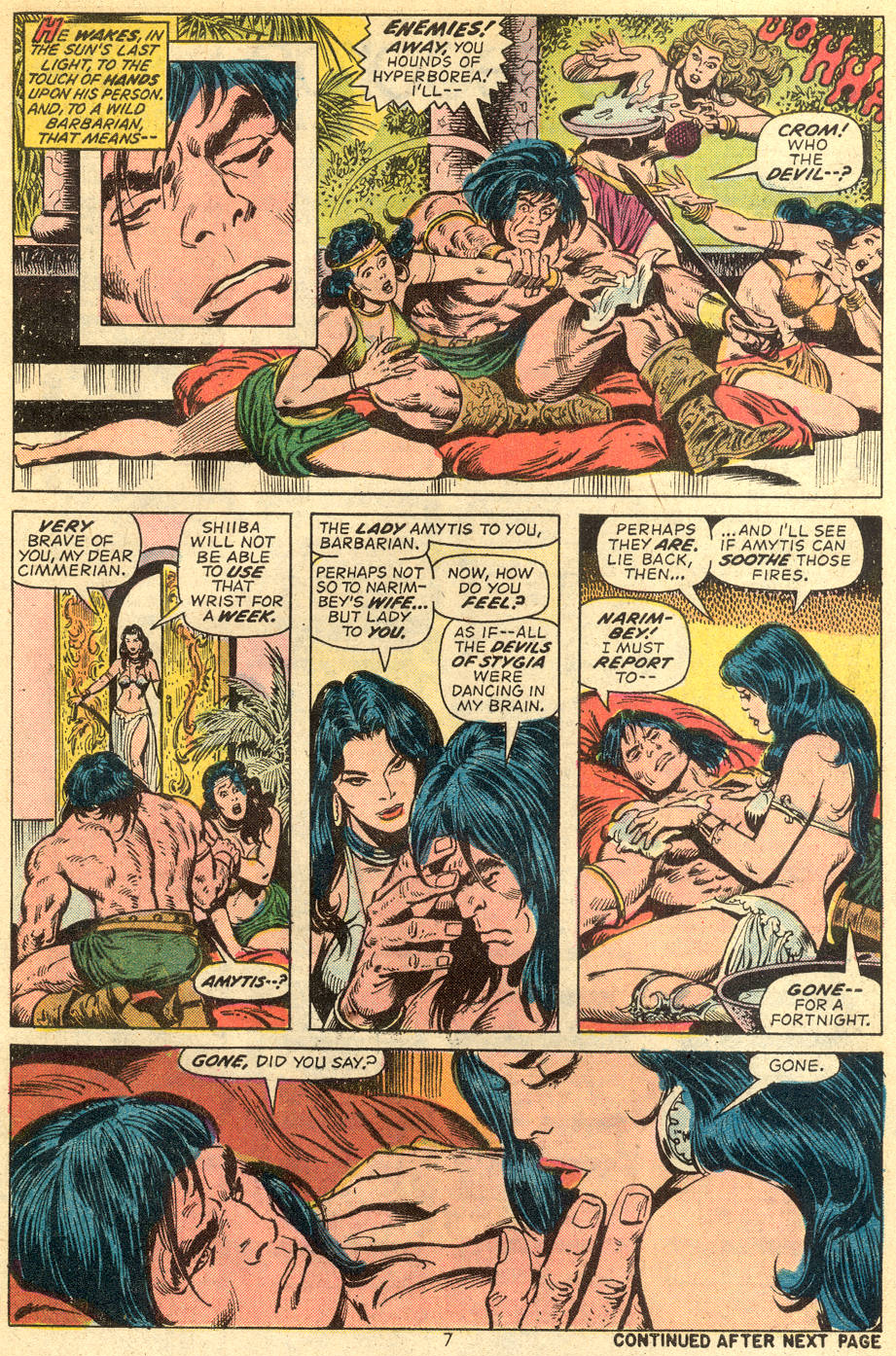 Conan the Barbarian (1970) Issue #36 #48 - English 6