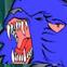 Azul de raiva