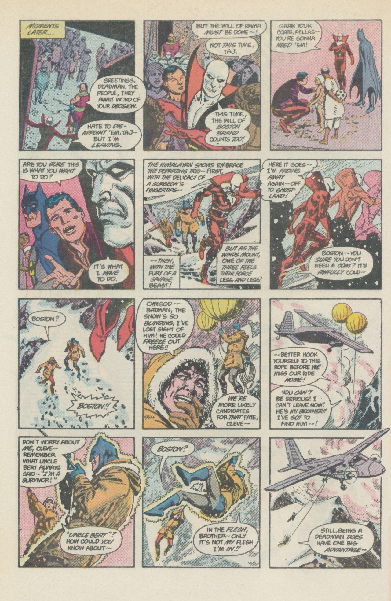 Deadman (1986) #1 #4 - English 11