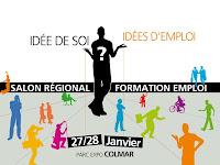 Sur le Stand Scène de l'Europe au Salon Régional Formation et Emploi de Colmar :  Le dispositif Jeunesse en mouvement