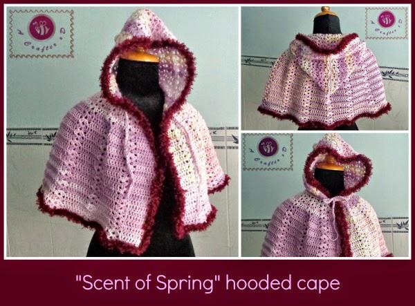 Crochet Hooded Cloak Pattern Crochet Hooded Cape Pattern