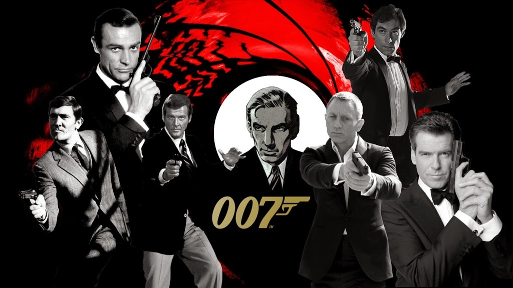 all time james bond characters