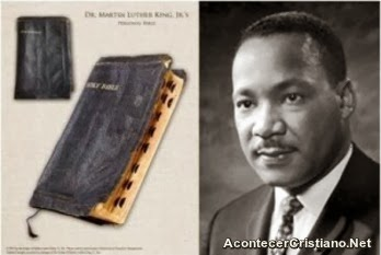 Biblia de Martin Luther King es motivo de disputa entre sus hijos