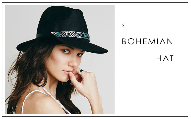 Boho hat, summer accessories