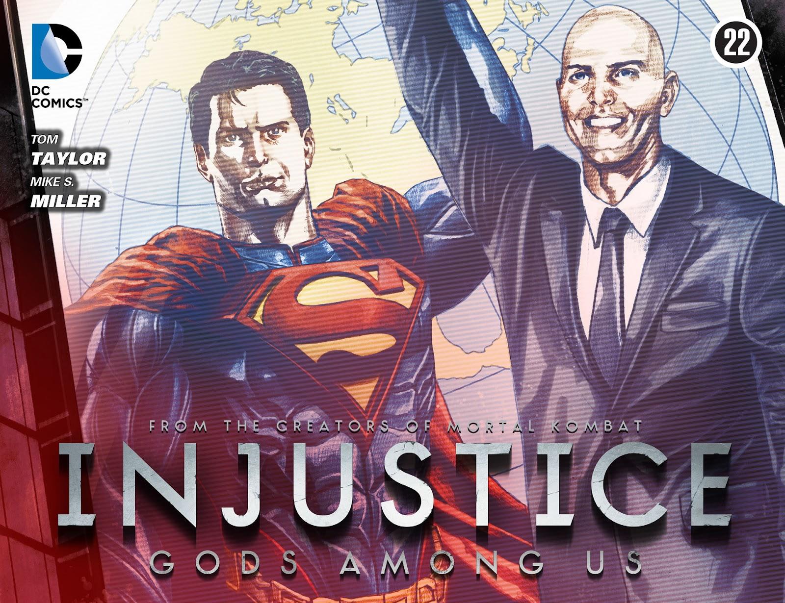 Injustice: Gods Among Us [I] Issue #22 #23 - English 1
