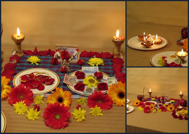 Life a miracle diwali the festival of lights for Simple diwali home decorations