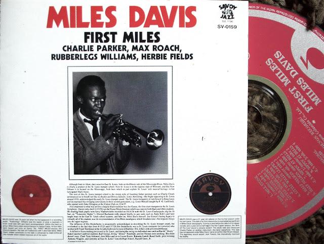 Miles Davis - First Miles on Savoy Jazz 1945~'47 / Denon 1992
