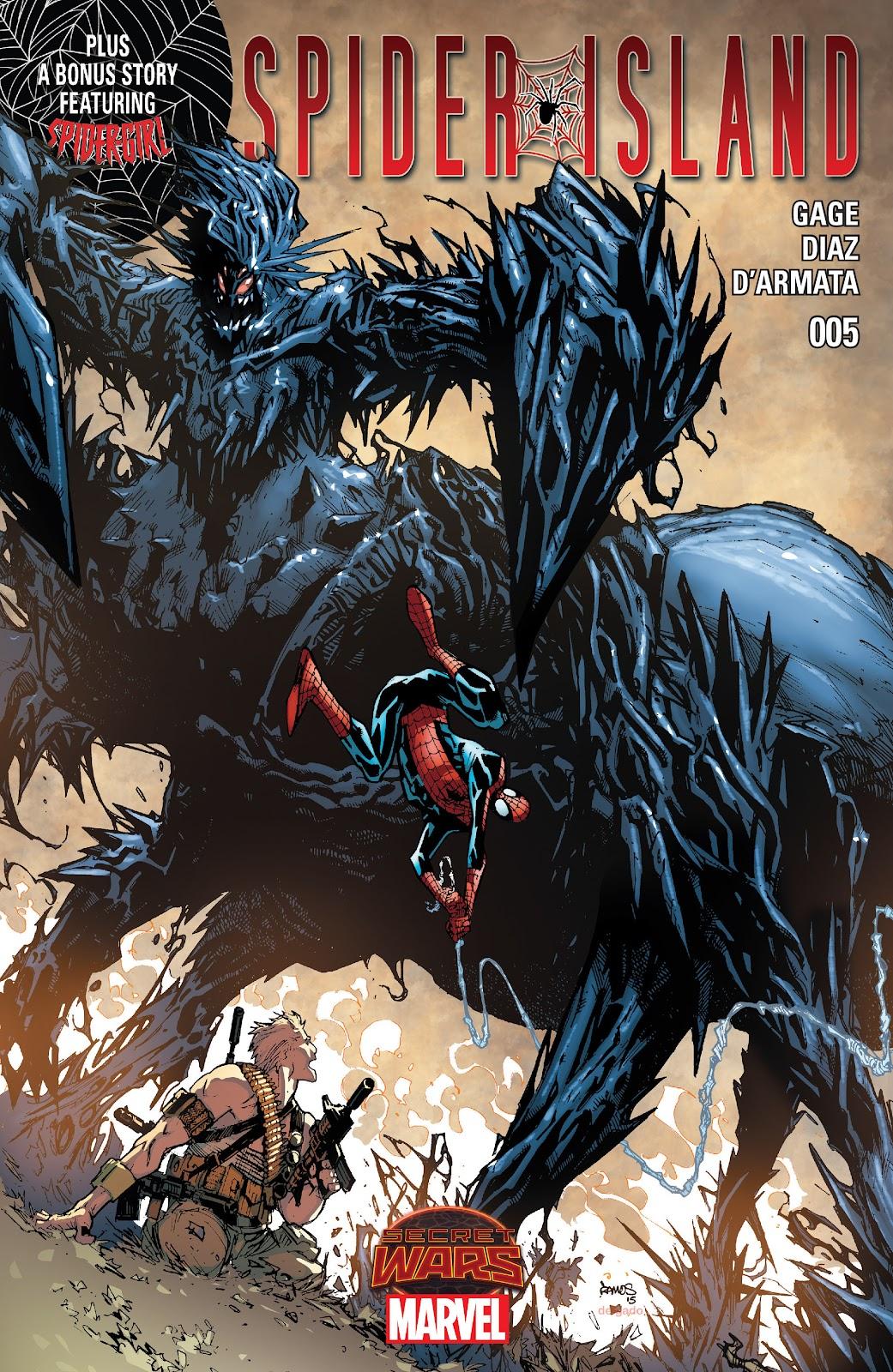 Spider-Island issue 5 - Page 1