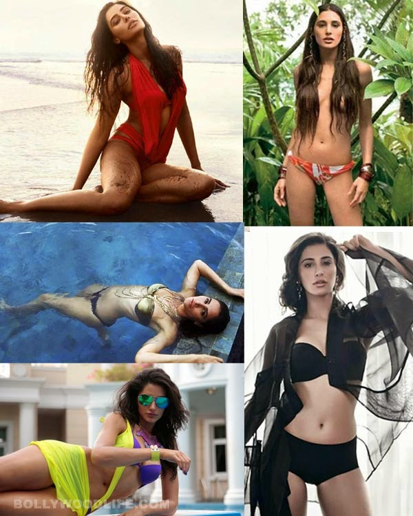 nargis fakhri hot erotic bold sensuous videos topless braless bikini pictures