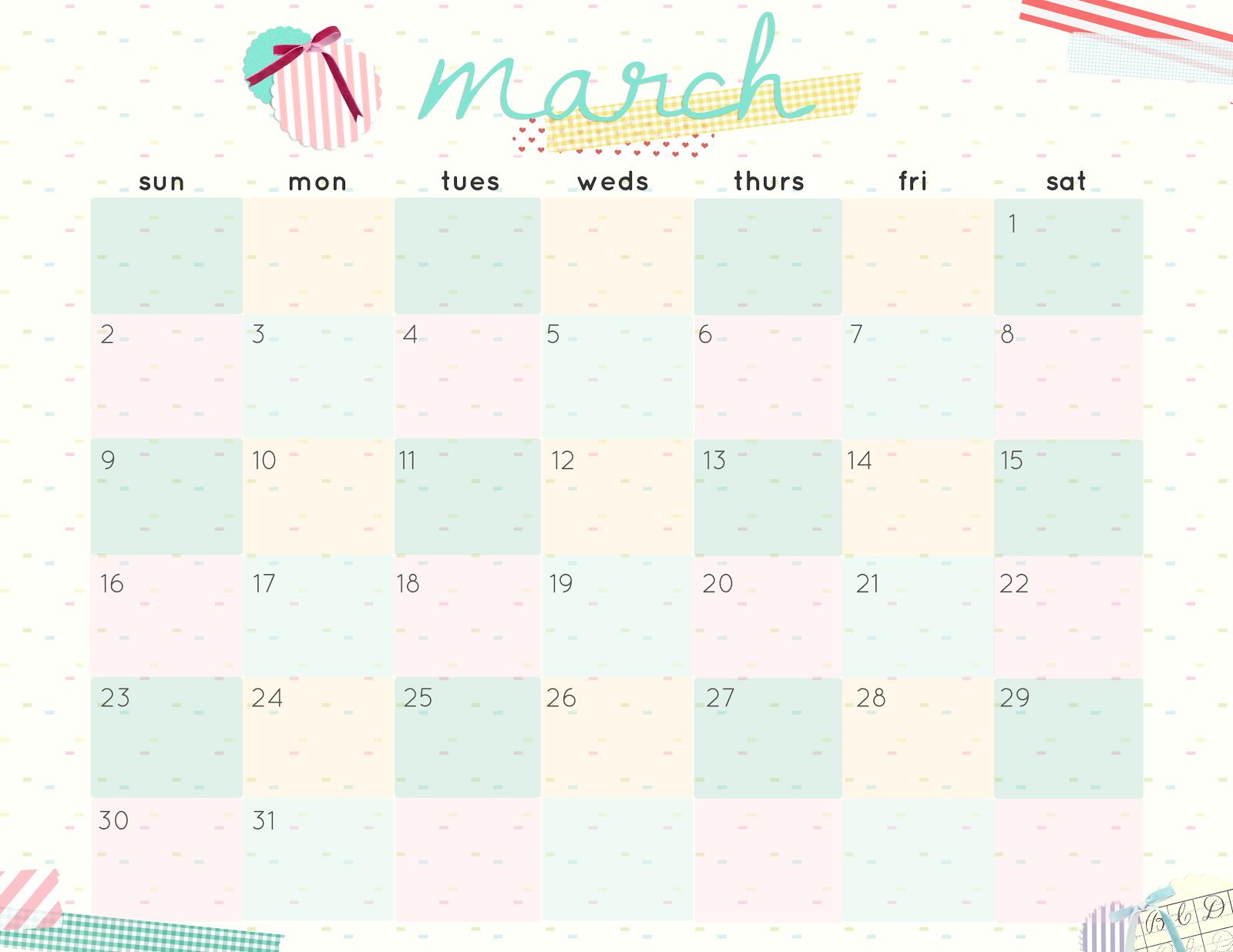 Hello Cuteness Free Printable Calendars 2014 | New Calendar Template ...