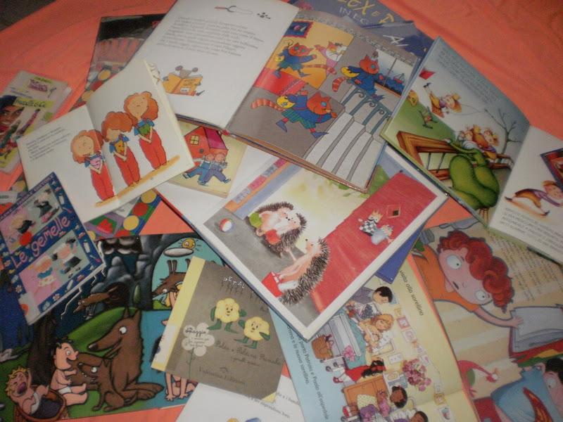 Spazio neomamma seriate bimbi gemelli libri illustrati - Gemelli diversi foto ricordo ...