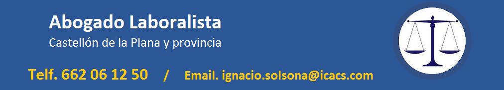 Abogado Laboralista Castellón
