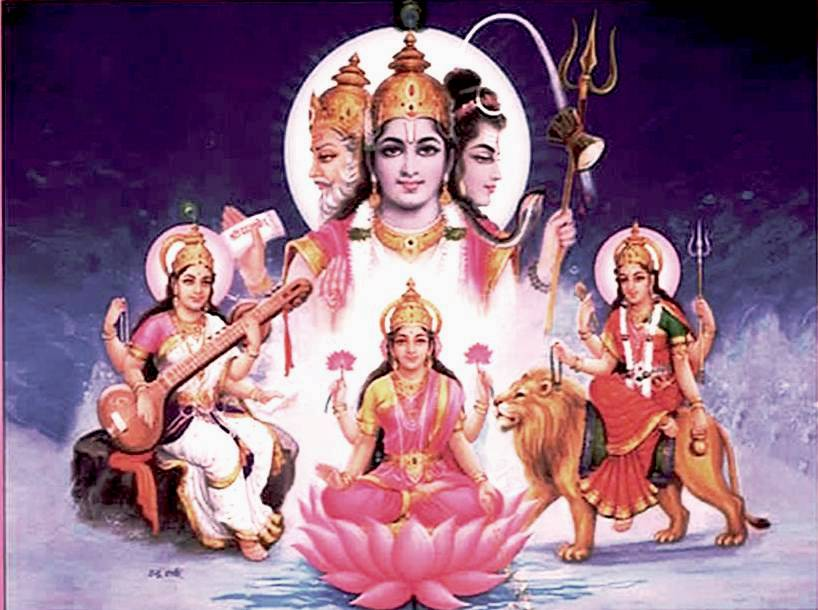 hindu trinity Recently, i've been looking to the hindu trinity of gods to inspire balance in my  life in case you aren't familiar with them, allow me to introduce.