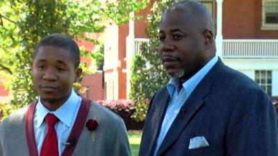 Father and Son Graduate Morehouse College Together