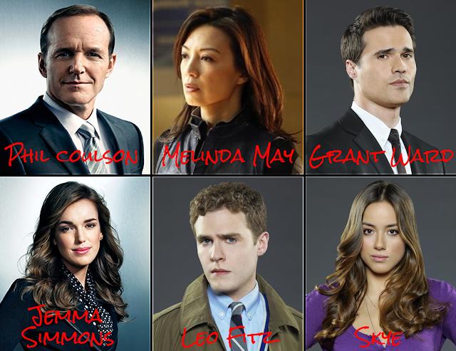 Agentes da série Agents of S.H.I.E.L.D