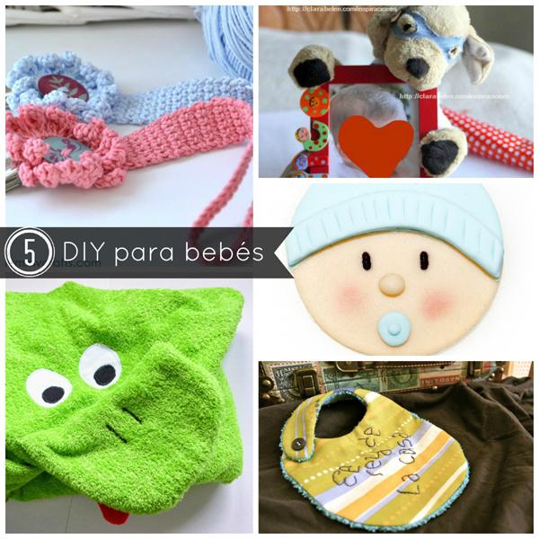 DIY 5 regalos para beb�s