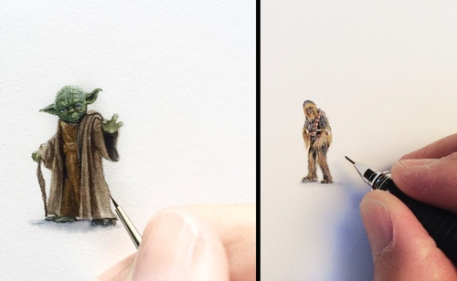 00-Karen-Libecap-Star-Wars-&-other-Miniature-Paintings-and-drawings-www-designstack-co