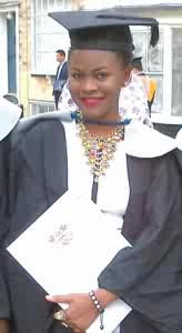 21-year-old Nigerian girl becomes most oustanding graduating student at University of Kent