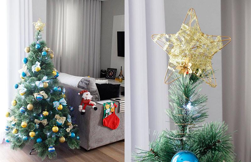 A decoração de Natal da blogueira Bruna