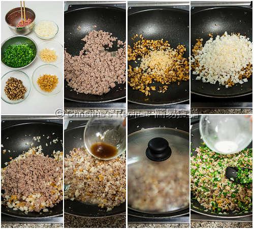How To Make Teochew Dumpling Filling