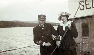 Alfred Teodor och Matilda Josefina